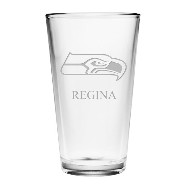 Seattle Seahawks Personalized 16oz. Pint Glass