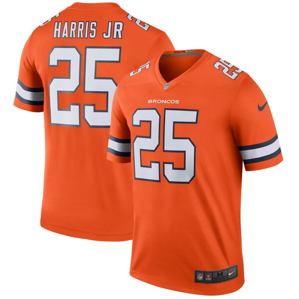 Chris Harris Jr Denver Broncos Nike Color Rush Legend Jersey - Orange
